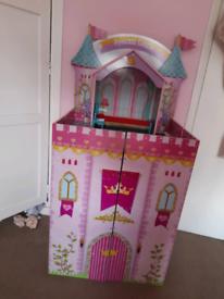 Princess Castle dolls house & accessories
