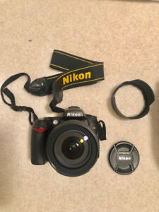 Nikon D90 DLSR w/ Nikkon 18-105mm lens (accessories included)