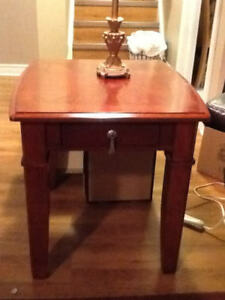 Living Room tables - Cherry Wood in Colour