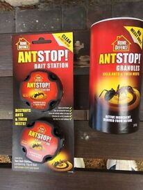 Ant STOP Killer NEW Bait stations and granules good make collection from broadstone