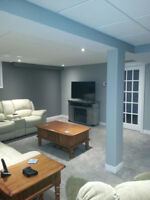 We specialize in basement renovations