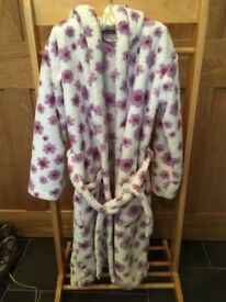 John Lewis girls fleece dressing gown age 11