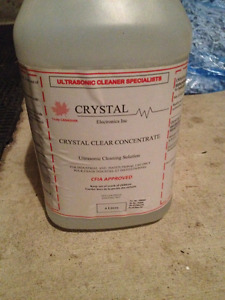 Crystal Clear Ultrasonic Cleaner