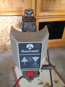Belt Driven Rockwell Drill Press with Stand