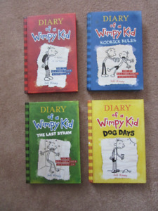 Diary of A Wimpy Kid Hard Covers