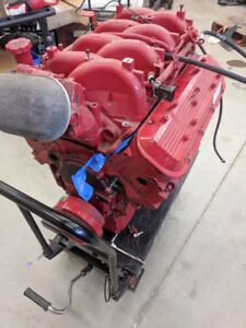 Volvo 8.1l 496 Penta Long Block Motor + Parts
