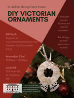 Victorian Ornament Workshop