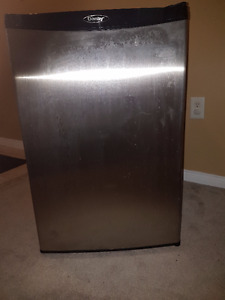Good condition - large capacity stainless steel bar fridge