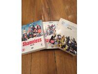 Shameless DVDs