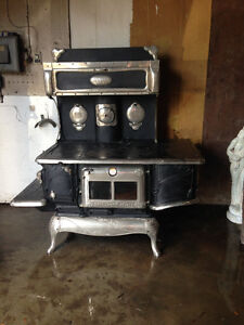 Antique Nickel Stove