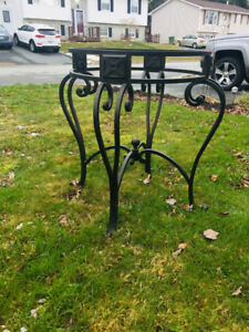 Wrought Iron Table. $75
