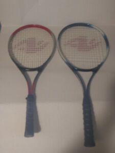 Tennis rackets ( set of two)