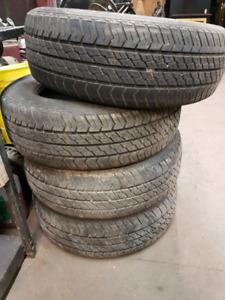 P195/65R15 Motomaster aw all season tires