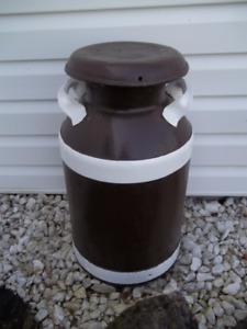 Milk Can Located in Marmora