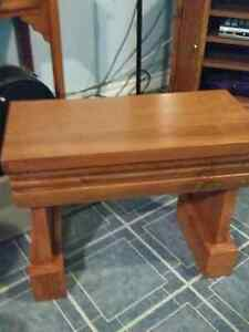 Entryway bench newly made, sturdy 4 colors available