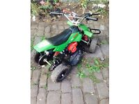 50CC street assasin petrol quad bike