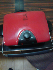 George Foreman Lean Mean Fat Grilling Machine