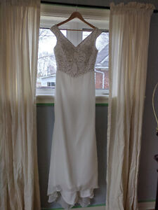 Chiffon Dress with Delicate Beading - Never Worn (tags still on)