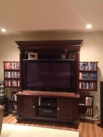 Mahagony TV Cabinet and console