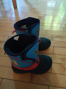 Two pairs of snow boots- size 9 and 5
