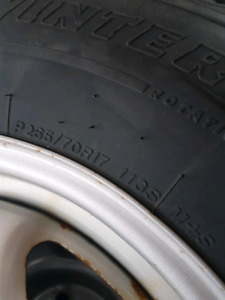 Snow tires for 2004-2018 f150