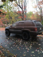 2002 Jeep Grand Cherokee overland - parting out