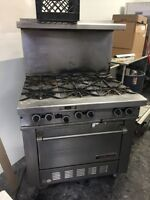 Garland 6 Burner with convection