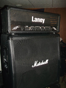 Best of England /// Laney-Marshall 120 Watt Halfstack