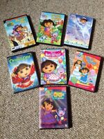 Dora and Diego DVDs for sale