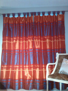 Show-Stopping Red Couture Curtains
