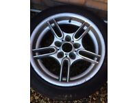 Style 66 bmw wheel spare front 17 inch 5x120 8j