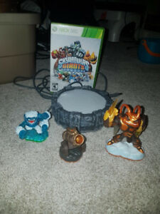 X360 Skylanders Giants set