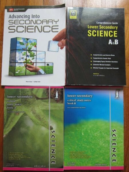 Lower Secondary Science Guide/Study Notes Books