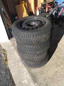 Winter Tires 195/65R15T $150 for a set of 4