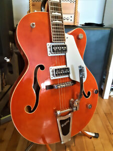 Gretsch G5420T Upgrade TV Jones T-Armond Bridge and Neck