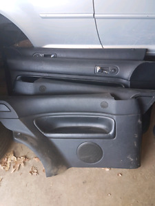 99-2005 VW JETTA/GOLF    2DOOR/4DOOR    LEATHER DOOR PANELS