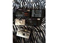 Job lot of film cameras