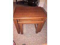 Brown Table set
