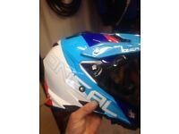 Oneal helmet super moto endurance