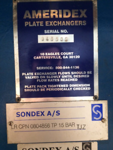 Two Plate Heat Exchangers