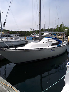 C&C 25' SAILBOAT
