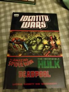 Identity Wars Graphic Novel Hardcover