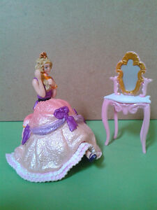 Schleich and Papo Toy Collection - Sitting Princess Set