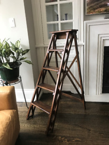 Wooden Ladder - Pottery Barn ladder, decorative & functional