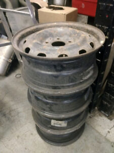 4 x 16 inch 5x127 steel rims mags