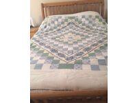Vintage lightweight patchwork quilt