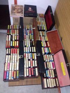Lecteur 8 tracks RCA et casettes
