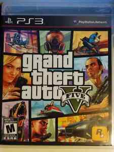 Grand Theft Auto V PS3 - Brand New, Black Label Launch Copy Kitchener / Waterloo Kitchener Area image 1
