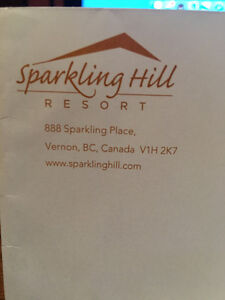 Sparkling Hill $500 GC
