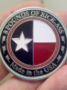 LARGE 45mm FIREFIGHTERS THE PIG 8 POUNDS OF KICK-ASS COIN.